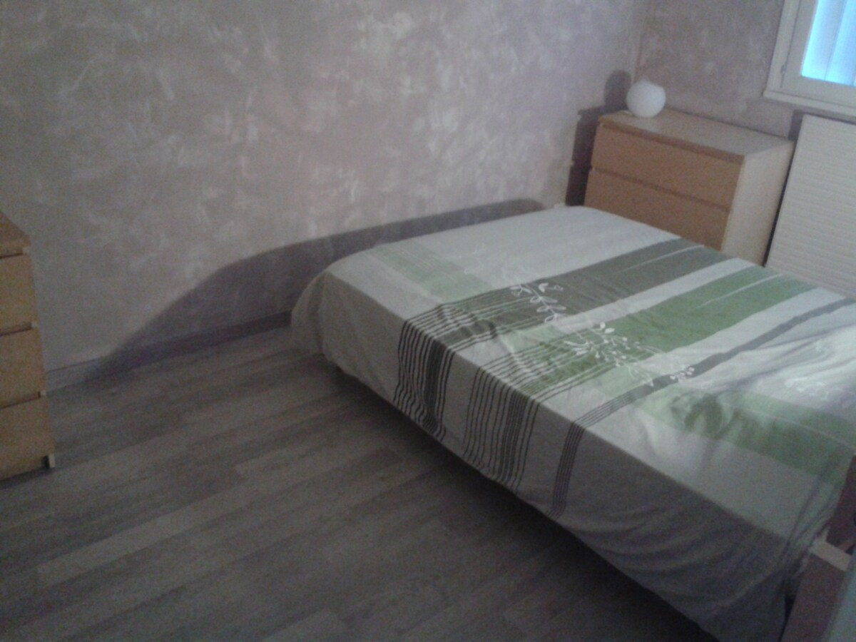 chambre privée lit 160