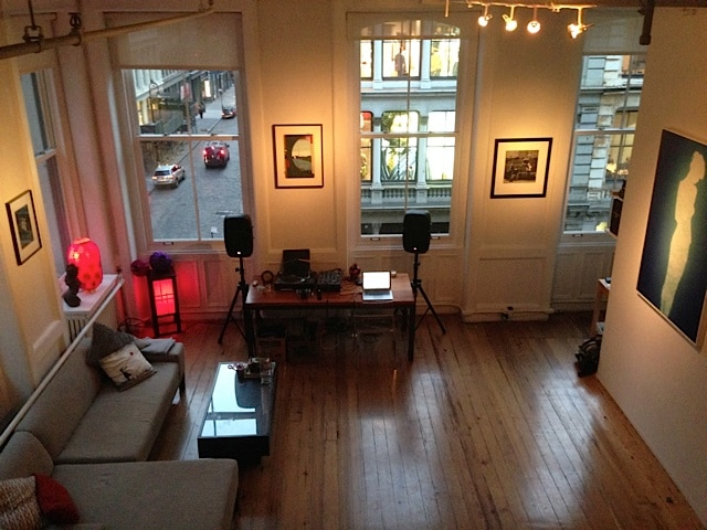 Classic Soho loft space