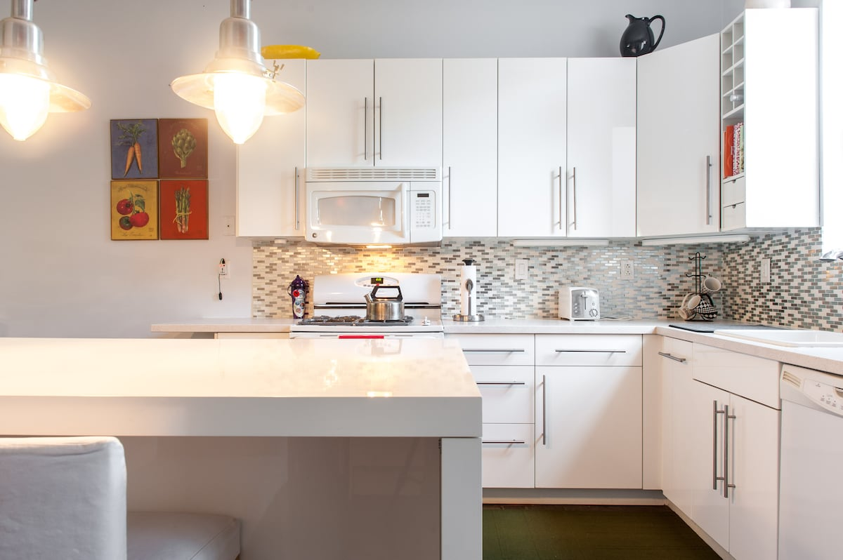 Fully equipped kitchen, ready for your family meals