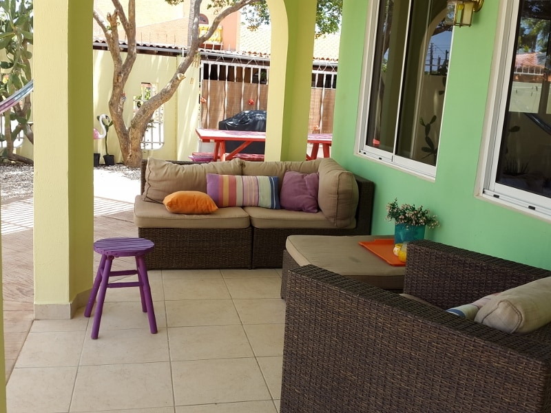 Outside lounge area for your relaxing moments.