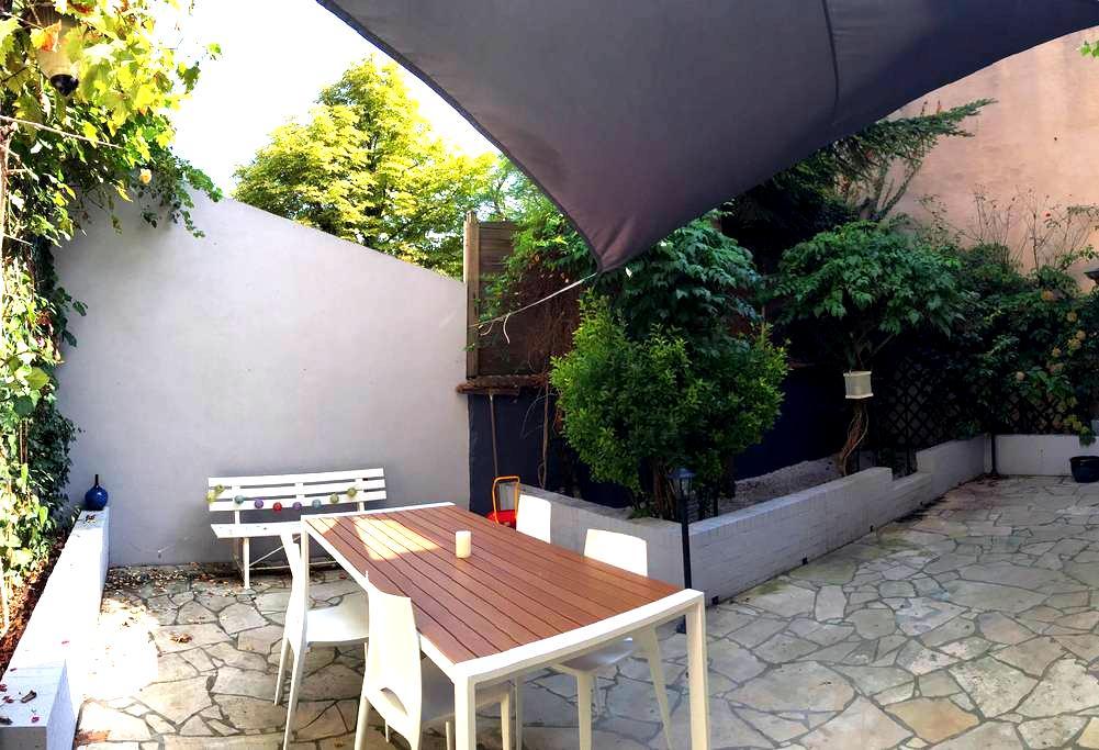Jolie maison familiale - 120m2 - Petit jardin - Nancy - Rumah