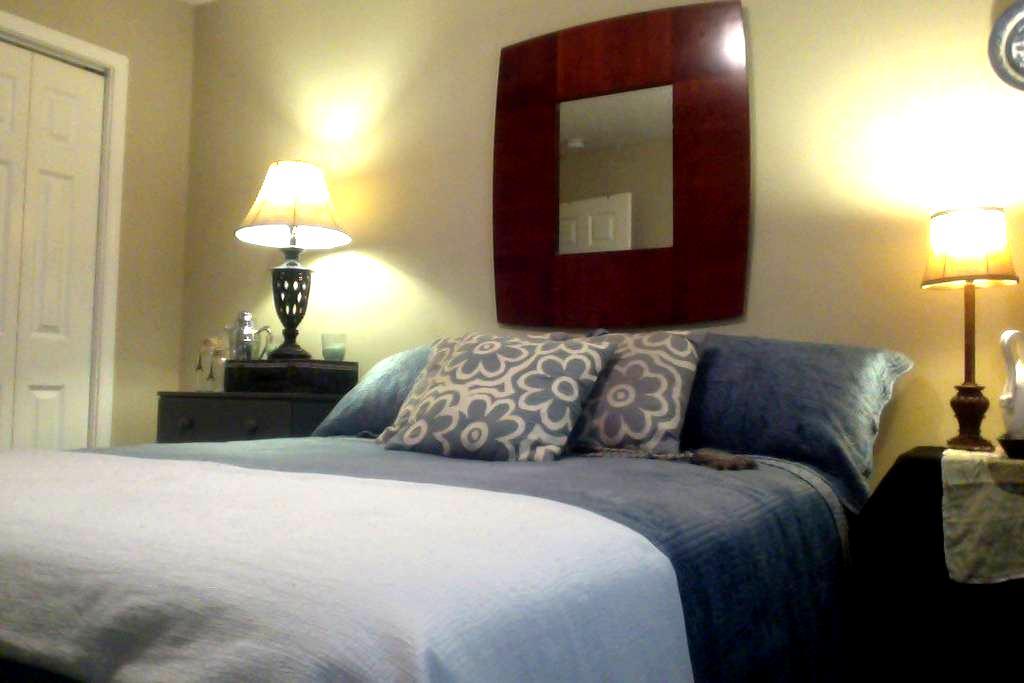 Peaceful House near GSU, private room and bath! - Statesboro - Casa