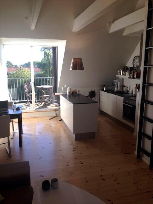 Balcony, free parking - Hvidovre - Appartement