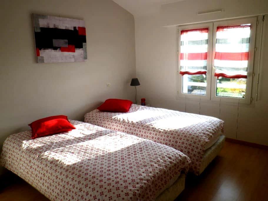 2 Chambres privatives quartier calme prox Nantes - Saint-Sébastien-sur-Loire - House