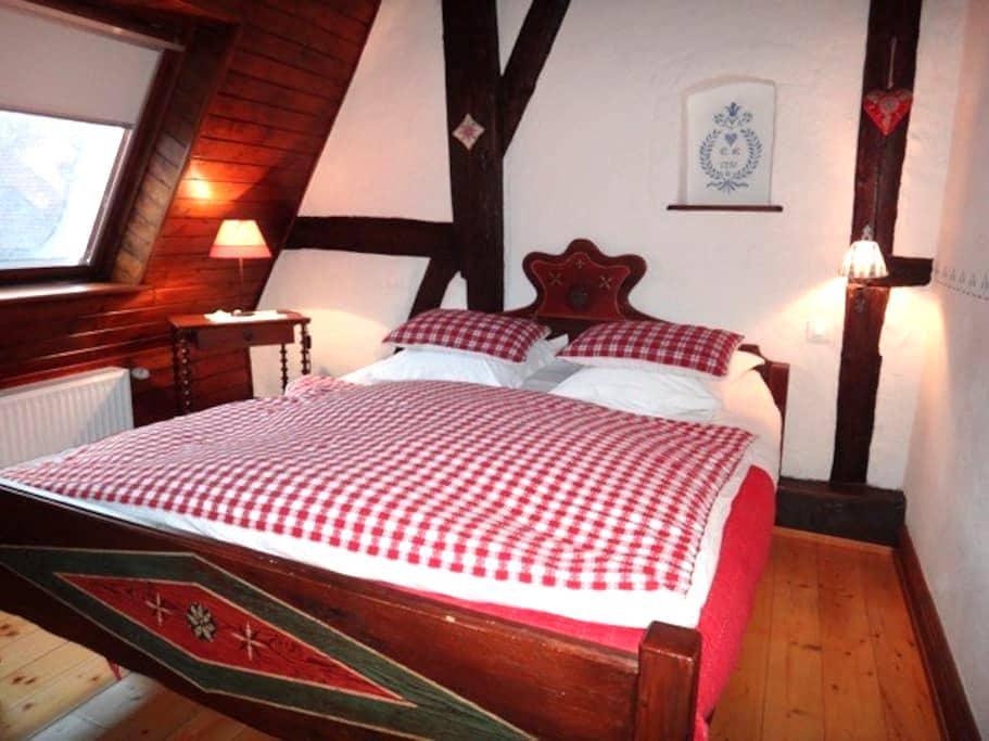 Chambre du Grenier Kientzheim Kaysersberg + p-dej - Kientzheim - 家庭式旅館