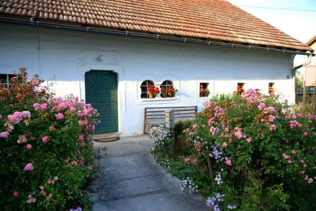 Wohnen am Bauernhof / Farm holidays - Hörsching - 公寓