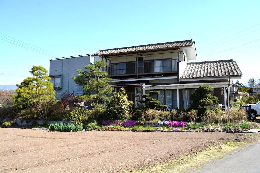 US family in quiet countryside of North Gunma - Shōwa-mura - House