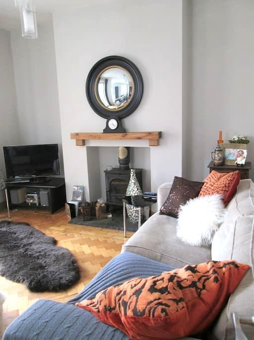 Lovely character home close to sea - Porthcawl - 一軒家