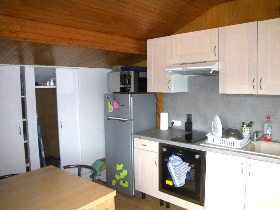 Appartement indépendant dans maison - Échirolles - Apartamento