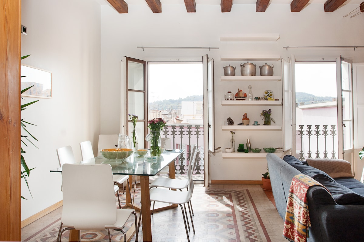 Sunny Centric Flat* Beautiful Room