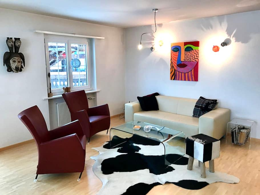 modern flat in Küblis - 20 Minutes from Davos - Küblis - Huoneisto