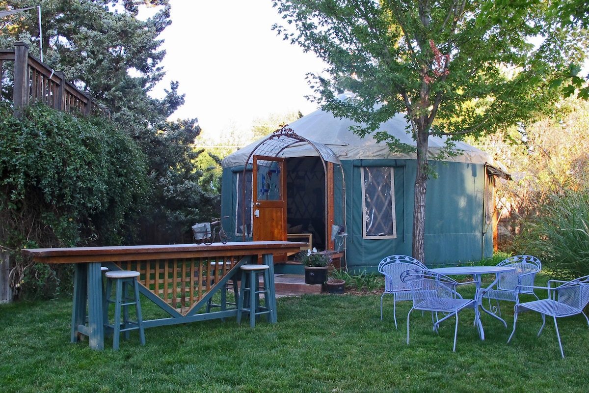 36th  Street Urban Yurt