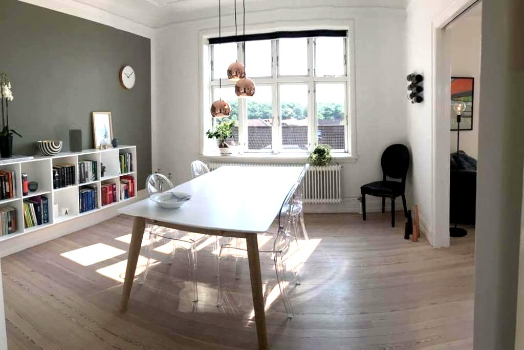 Lovely apartment in popular Trøjborg, Aarhus - Aarhus - Appartement