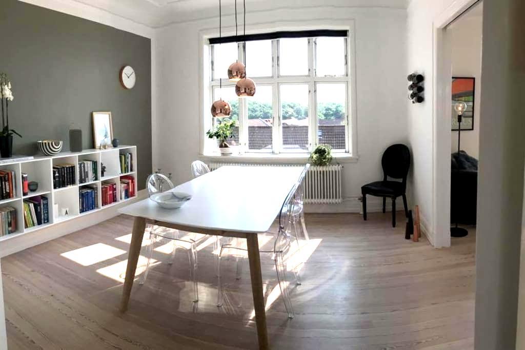 Lovely apartment in popular Trøjborg, Aarhus - Aarhus - Wohnung