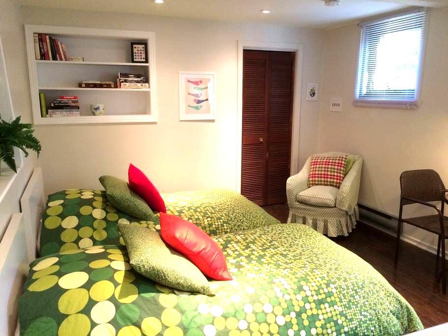 The nanny's room - Monkland Village NDG - Montréal - Apartmen
