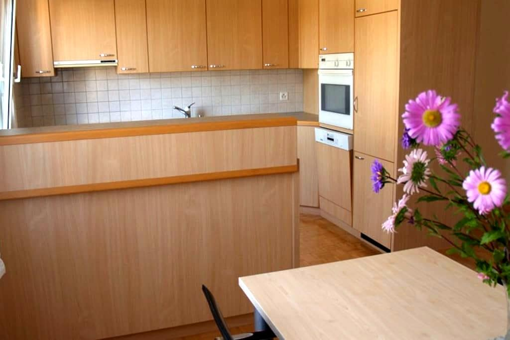 Friendly and quiet apartment for rent in Berg. - Berg - Lejlighed