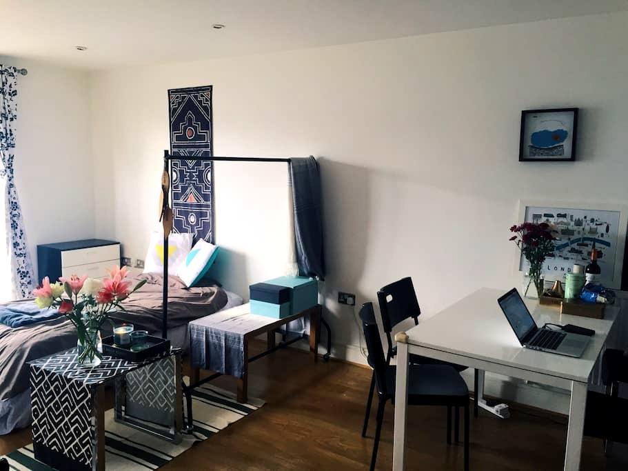 Clean Single bed in East London - London - Leilighet