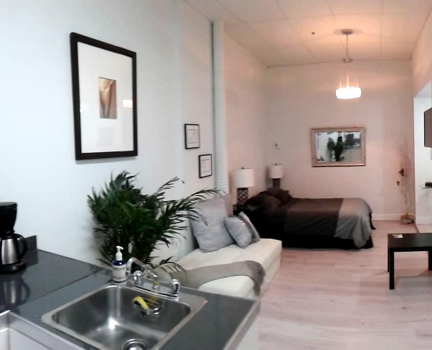 Charming studio with free parking - Ville de Québec - Apartamento