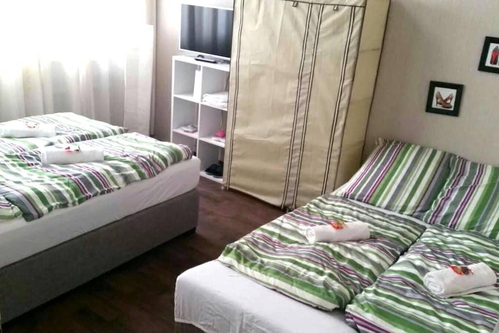 1-2 person guestroom Stuttgart - Stuttgart - Appartement