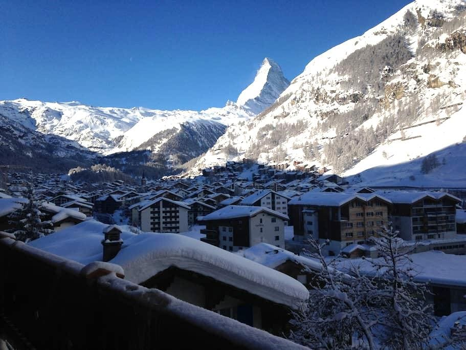 Apartment in Zermatt with Matterhornview - 策马特