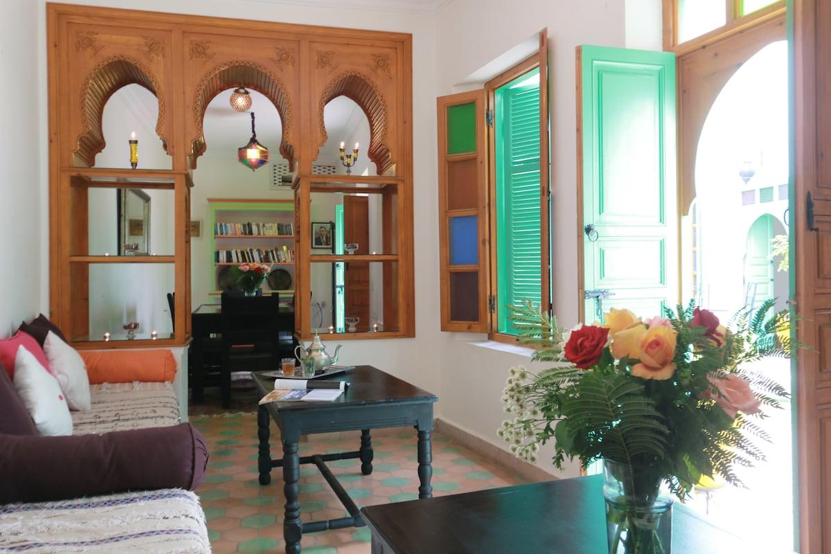 Riad Aida Chambre AMANI (Triple)