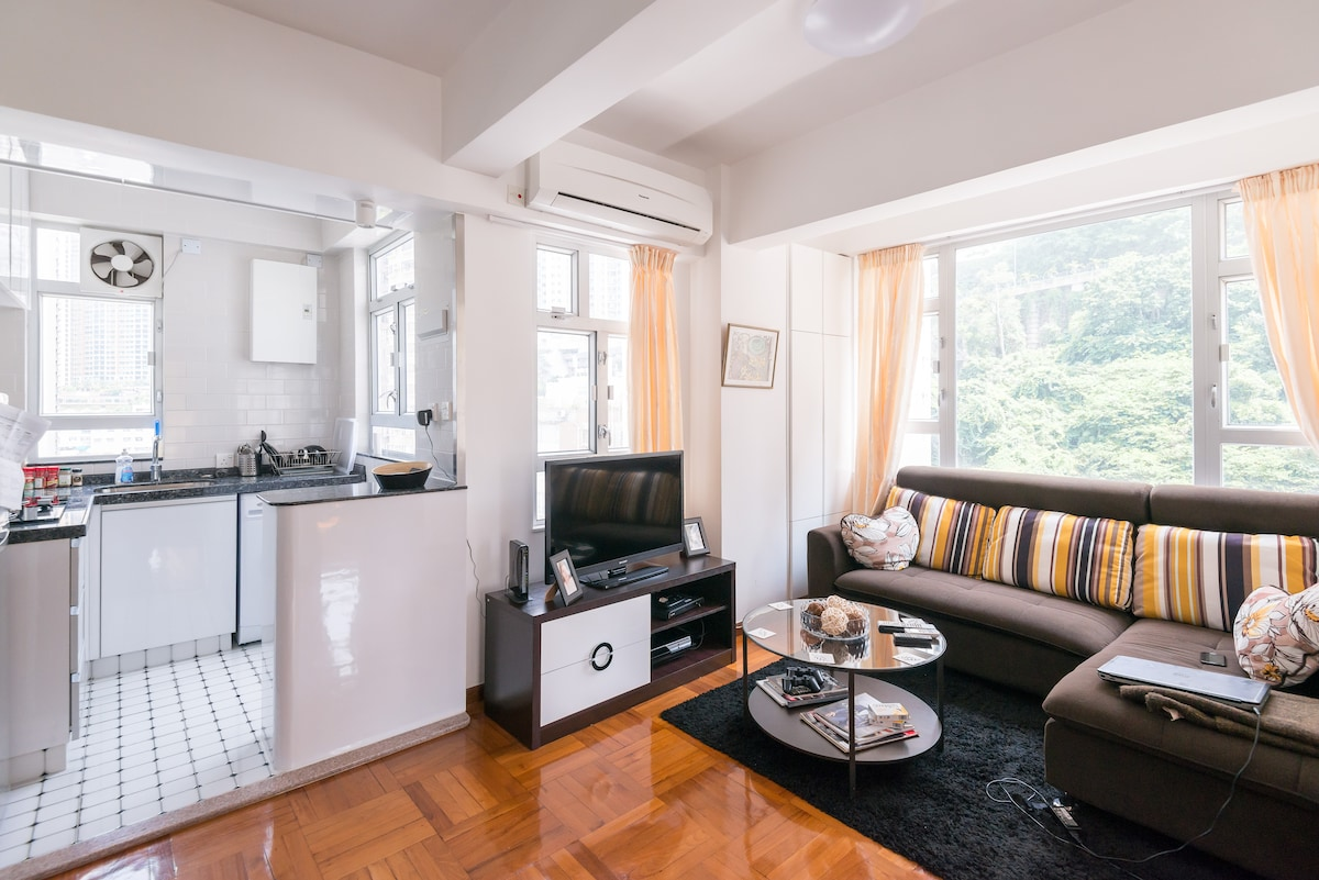 Nice two bed room (1 room for rent)