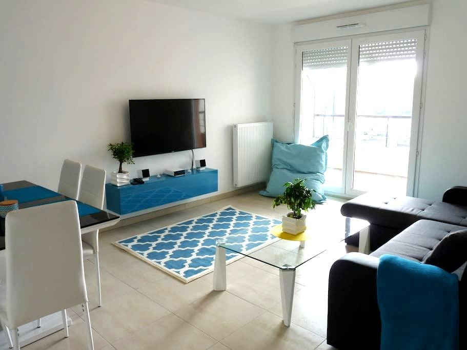 Cosy apartment at Melun near Paris & Fontainebleau - La Rochette - Apartamento
