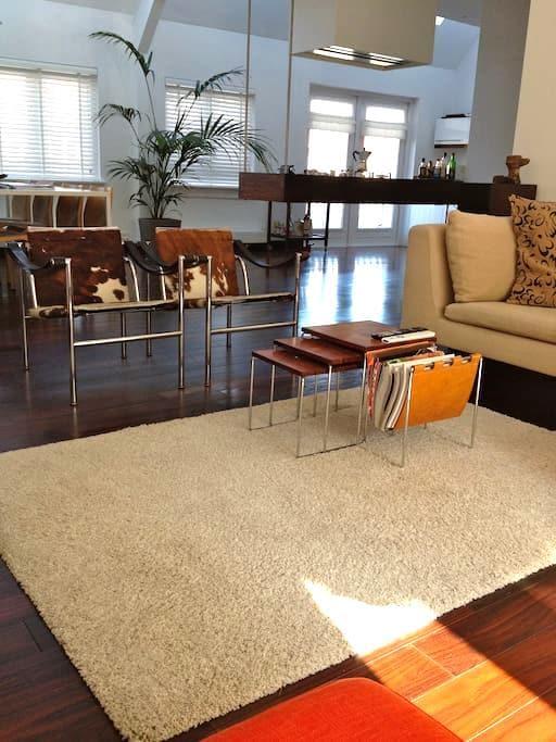 Slapen in een luxueus Stads-appartement in Alkmaar - Alkmaar - Departamento