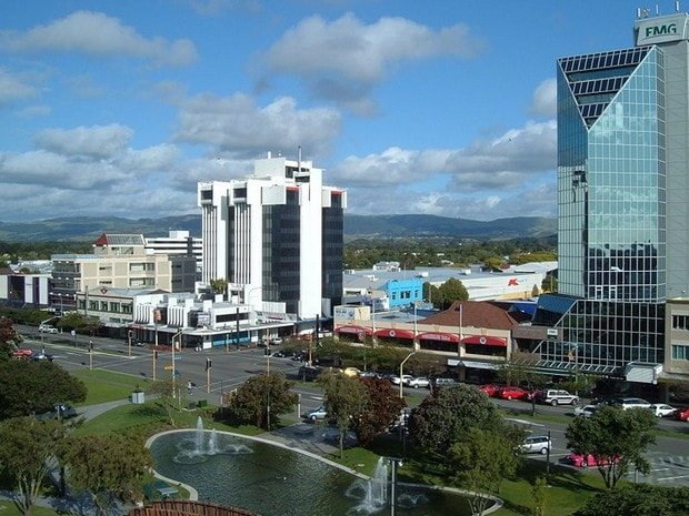 Palmerston North CBD