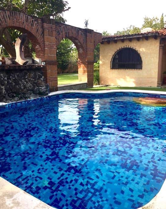 Nice house near Mexico city with private pool - Temixco - Loft