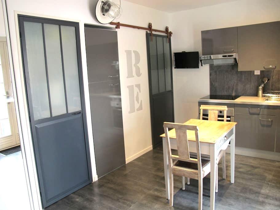 Studio standing 2 pers avec jardin dans la pinède - Rivedoux-Plage - House