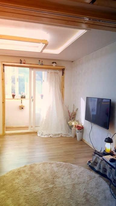 맑은공기 29.25m2 독채 (콘도형) 한옥마을 도보5분 - 전주시 완산구 교동 - Byt