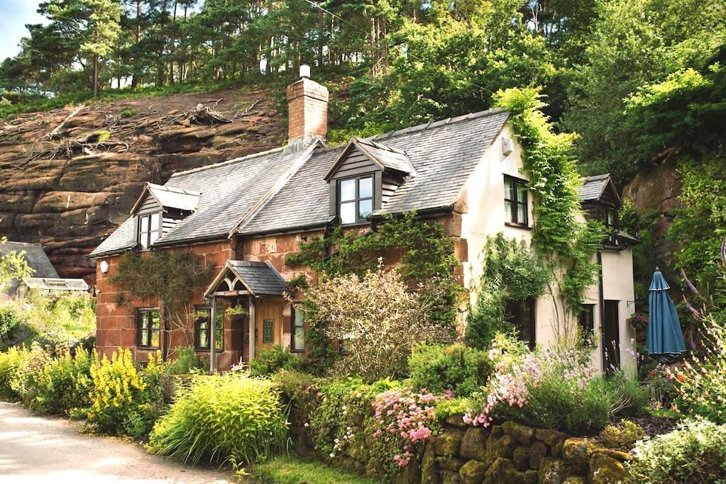 Underhill Cottage - Sleeps 7 - Myddle - Rumah
