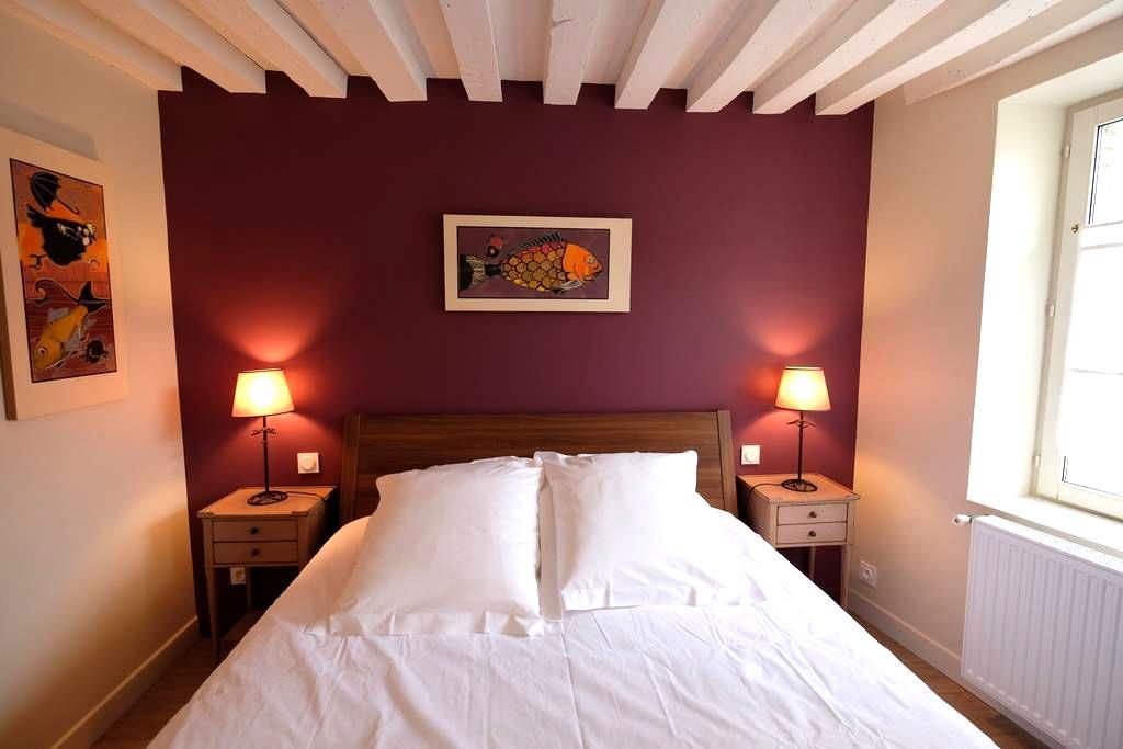 Jolie chambre dans Ste Catherine - Honfleur - Huis