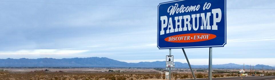 Boondock near Casino in Nevada