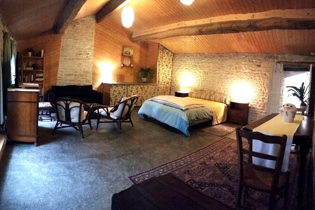 La Maison Pour Tous... Suite Familiale Spacieuse. - Usseau - Casa