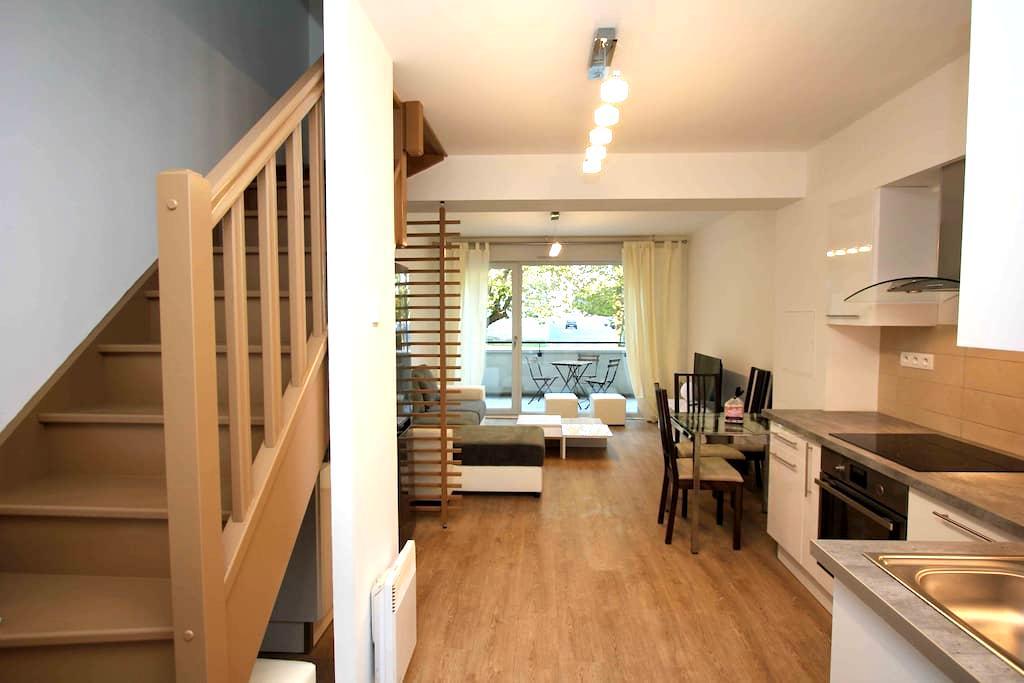 Duplex 53m2 proche Centre ville refait à neuf - 兰斯(Reims) - 公寓