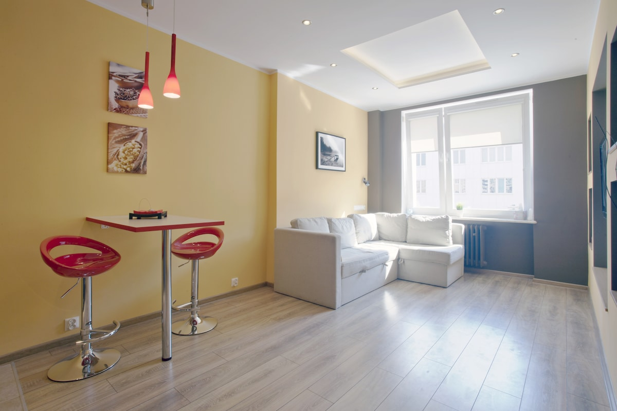 Gdynia - flat in the middle city