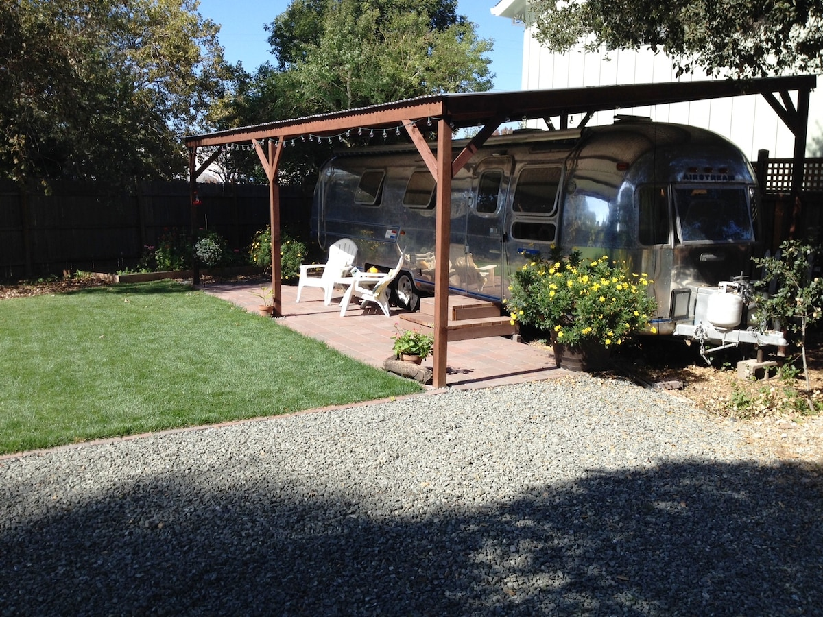 Silver Cloud Airstream - exceptionally cozy spot on Main Street!