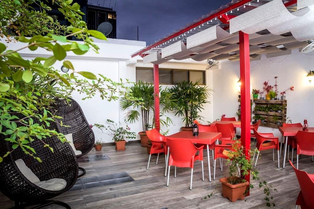 Single Bed in 8 Bed Room - Guayaquil - Bed & Breakfast