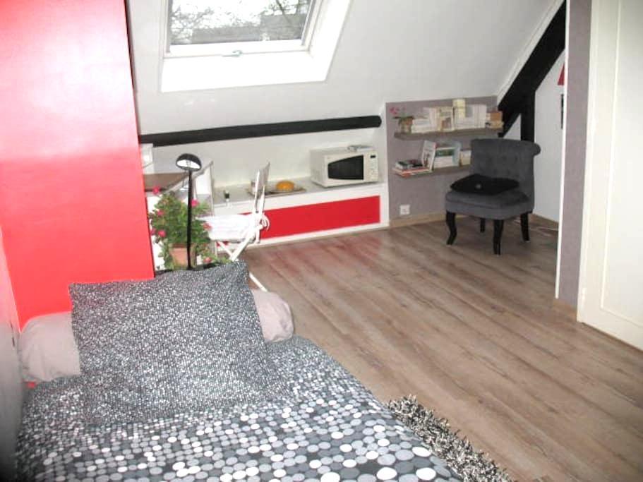 Chambre et salle d'eau/wc privés attenants - Saint-Herblain - Casa