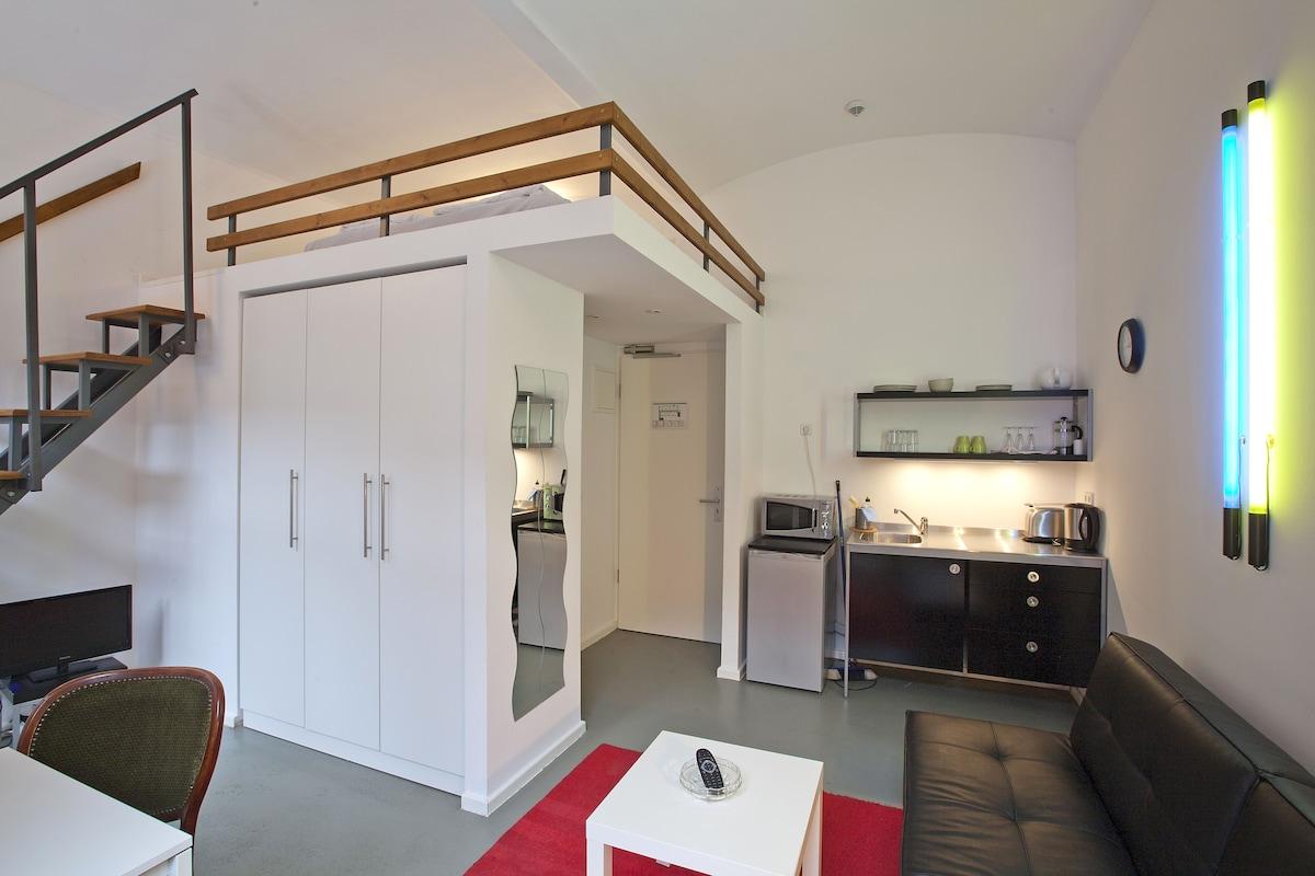Studio Apartment Loft loft-studio- modern and stylish - apartments for rent in berlin