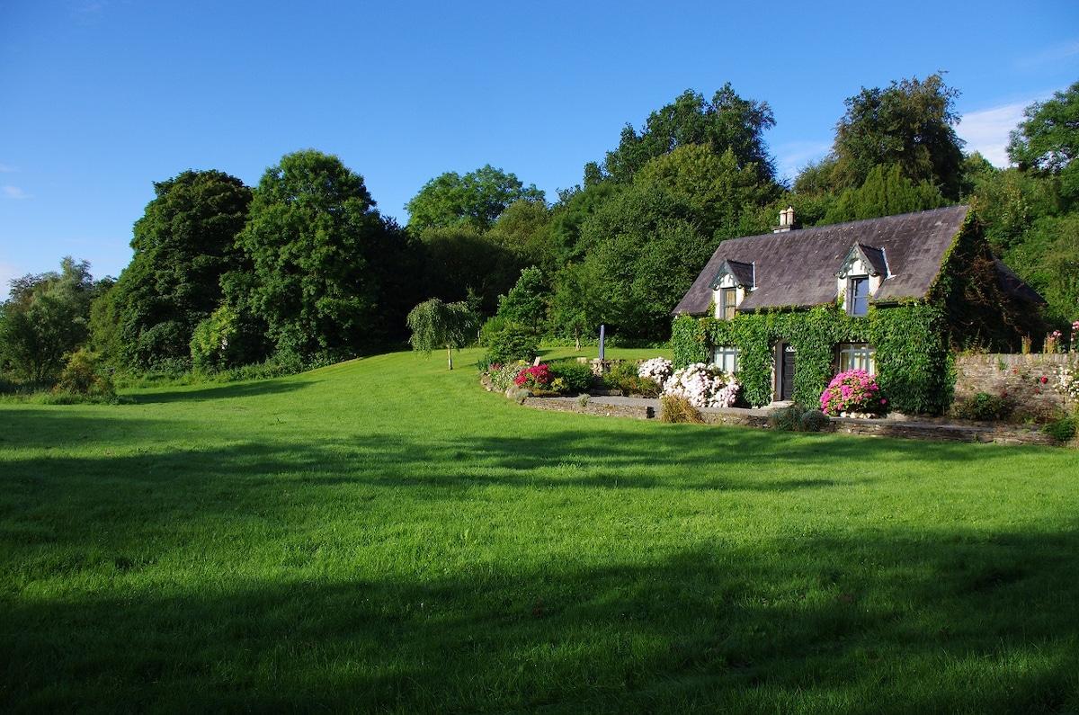 Magical Enchanted Riverside House