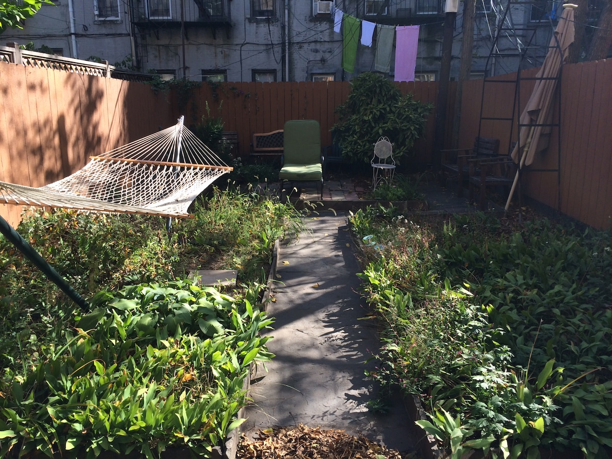 Private Backyard Greenpoint