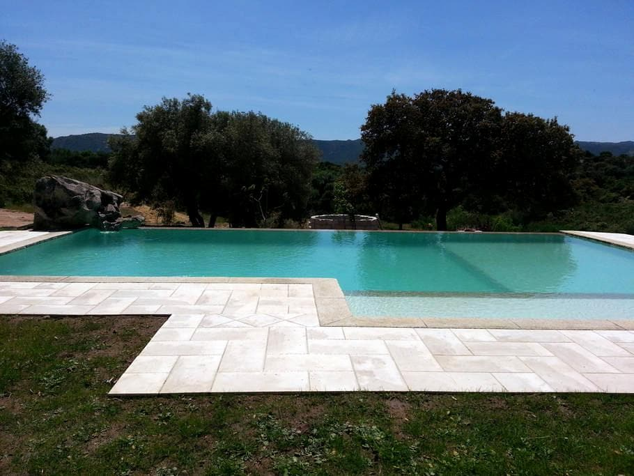 B&B with pool. Sea and countryside. - Olbia