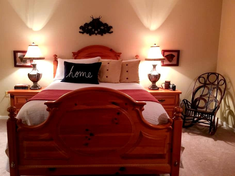 Cozy comfort! Queen bed close to town - Franklin