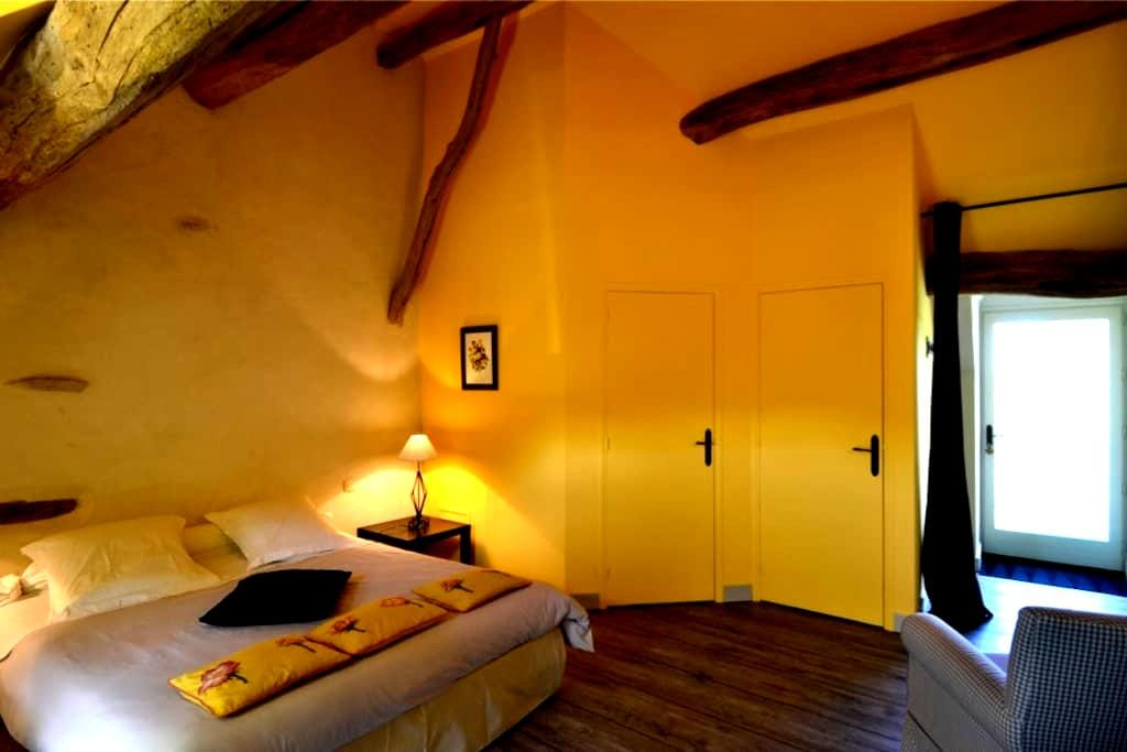 Chambre bouton d'or 2 pers. - Joux-la-Ville - Bed & Breakfast