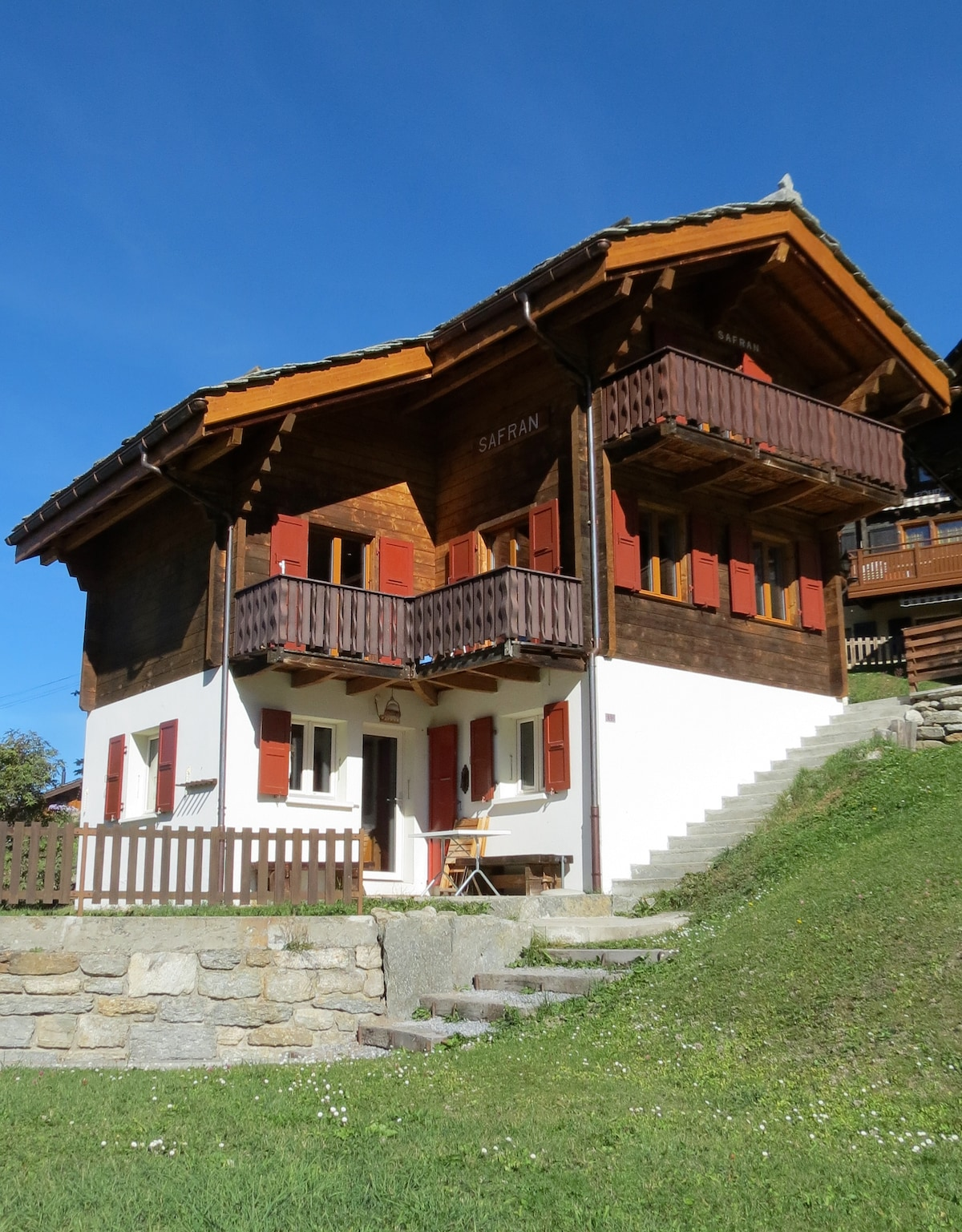 Grächen Charming Chalet Swiss Alps