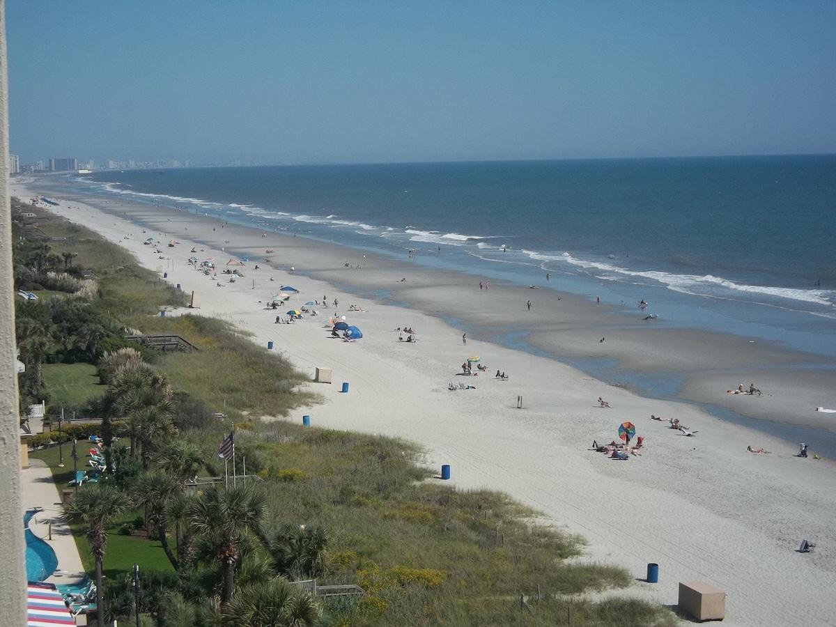 Oceanfront Condo 8th Fl Sand Dunes