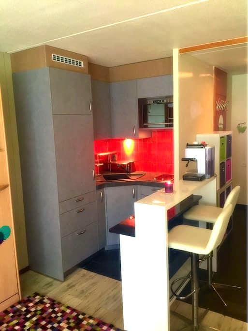 Studio de vacances - Anzere - Appartement